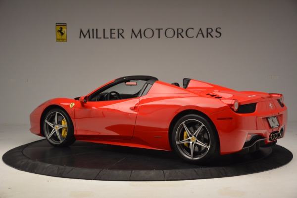 Used 2014 Ferrari 458 Spider for sale Sold at Aston Martin of Greenwich in Greenwich CT 06830 4