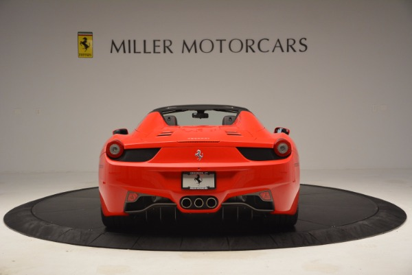 Used 2014 Ferrari 458 Spider for sale Sold at Aston Martin of Greenwich in Greenwich CT 06830 6