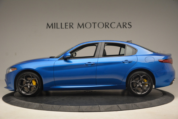 New 2017 Alfa Romeo Giulia Ti Sport Q4 for sale Sold at Aston Martin of Greenwich in Greenwich CT 06830 3