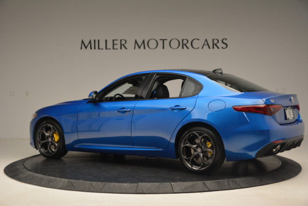 New 2017 Alfa Romeo Giulia Ti Sport Q4 for sale Sold at Aston Martin of Greenwich in Greenwich CT 06830 4