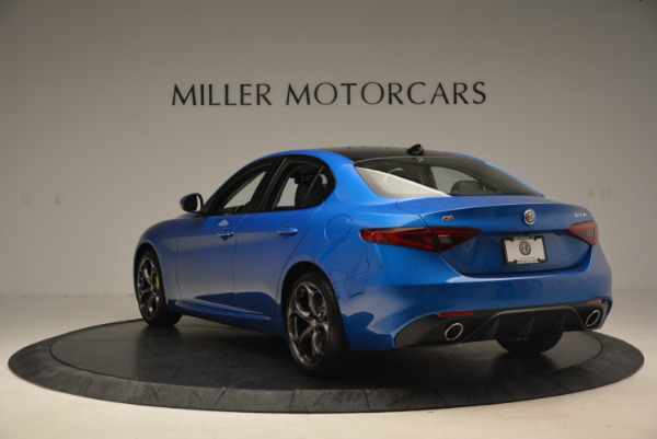New 2017 Alfa Romeo Giulia Ti Sport Q4 for sale Sold at Aston Martin of Greenwich in Greenwich CT 06830 5