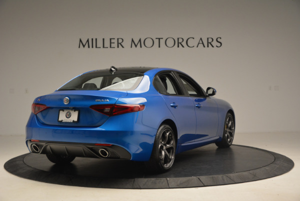 New 2017 Alfa Romeo Giulia Ti Sport Q4 for sale Sold at Aston Martin of Greenwich in Greenwich CT 06830 7