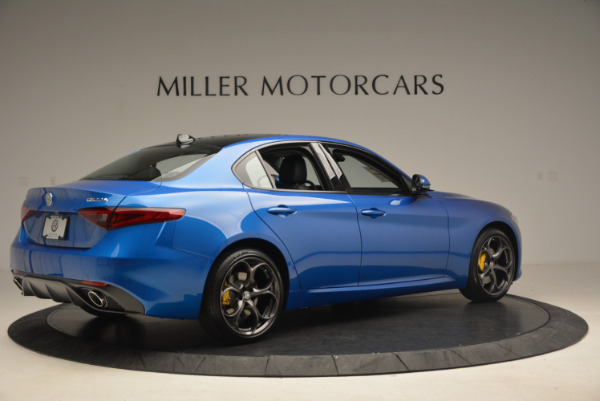 New 2017 Alfa Romeo Giulia Ti Sport Q4 for sale Sold at Aston Martin of Greenwich in Greenwich CT 06830 8