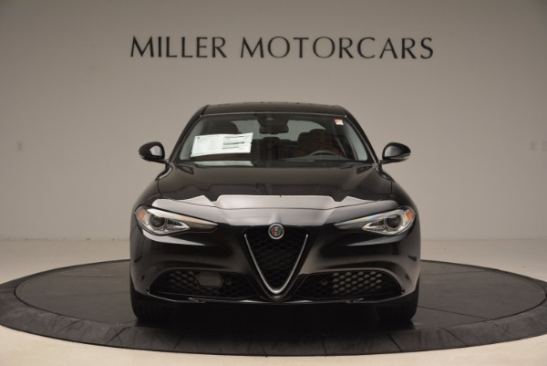 New 2017 Alfa Romeo Giulia Ti Lusso Q4 for sale Sold at Aston Martin of Greenwich in Greenwich CT 06830 12