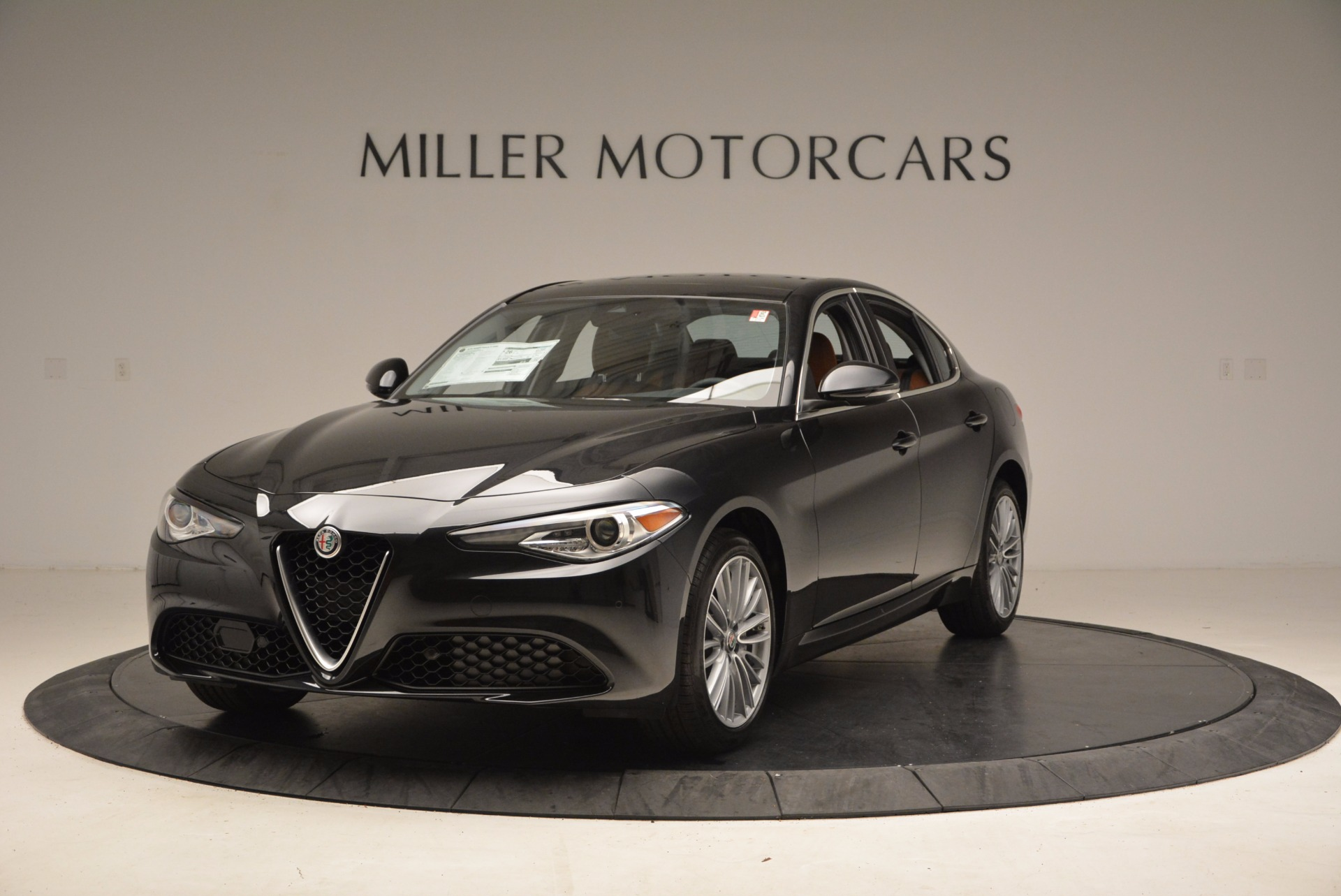 New 2017 Alfa Romeo Giulia Ti Lusso Q4 for sale Sold at Aston Martin of Greenwich in Greenwich CT 06830 1