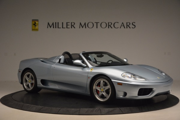 Used 2003 Ferrari 360 Spider 6-Speed Manual for sale Sold at Aston Martin of Greenwich in Greenwich CT 06830 10