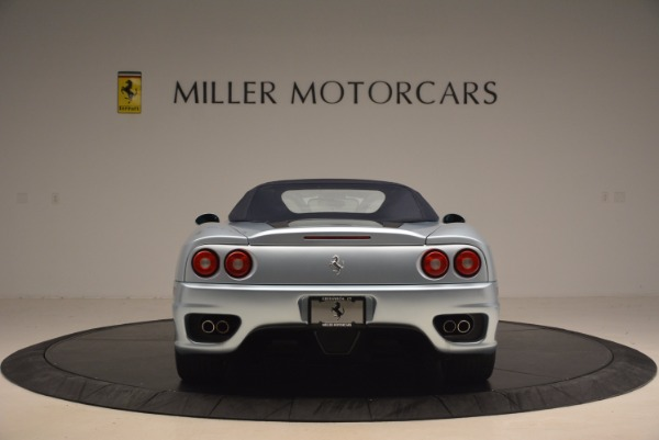 Used 2003 Ferrari 360 Spider 6-Speed Manual for sale Sold at Aston Martin of Greenwich in Greenwich CT 06830 18