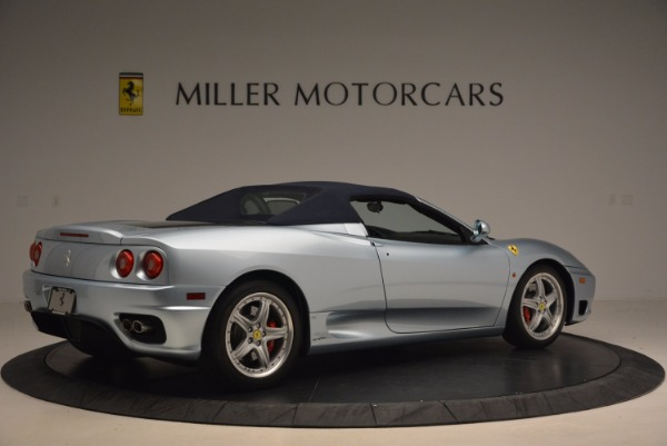 Used 2003 Ferrari 360 Spider 6-Speed Manual for sale Sold at Aston Martin of Greenwich in Greenwich CT 06830 20