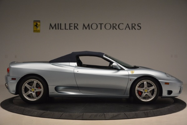 Used 2003 Ferrari 360 Spider 6-Speed Manual for sale Sold at Aston Martin of Greenwich in Greenwich CT 06830 21