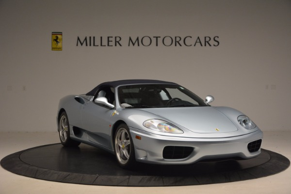 Used 2003 Ferrari 360 Spider 6-Speed Manual for sale Sold at Aston Martin of Greenwich in Greenwich CT 06830 23