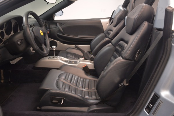 Used 2003 Ferrari 360 Spider 6-Speed Manual for sale Sold at Aston Martin of Greenwich in Greenwich CT 06830 26