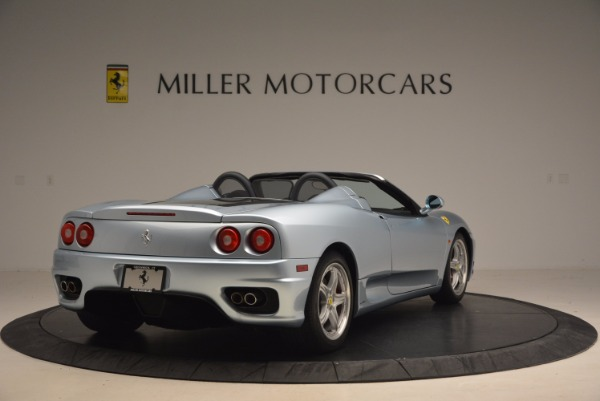 Used 2003 Ferrari 360 Spider 6-Speed Manual for sale Sold at Aston Martin of Greenwich in Greenwich CT 06830 7