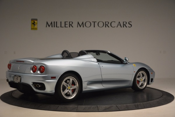 Used 2003 Ferrari 360 Spider 6-Speed Manual for sale Sold at Aston Martin of Greenwich in Greenwich CT 06830 8