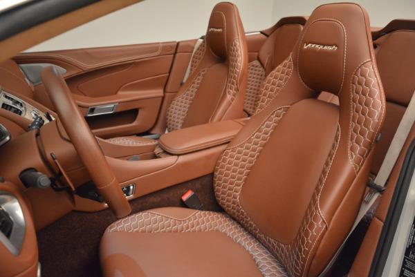 Used 2015 Aston Martin Vanquish Volante for sale Sold at Aston Martin of Greenwich in Greenwich CT 06830 23