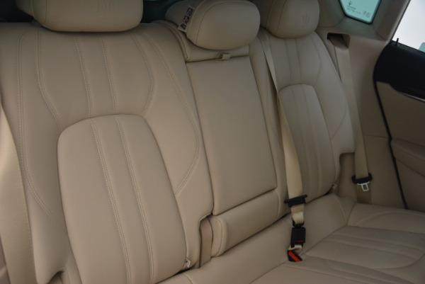 Used 2017 Maserati Levante S for sale Sold at Aston Martin of Greenwich in Greenwich CT 06830 24