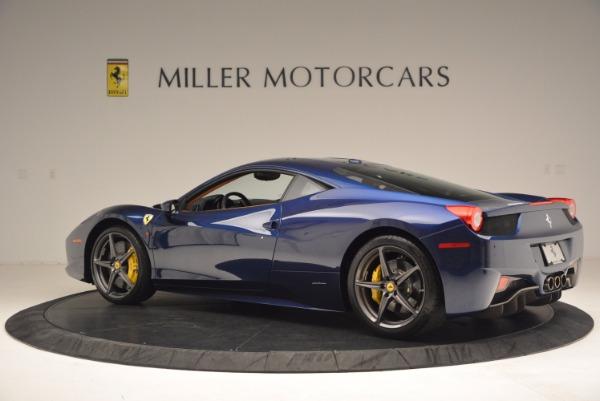 Used 2013 Ferrari 458 Italia for sale Sold at Aston Martin of Greenwich in Greenwich CT 06830 4