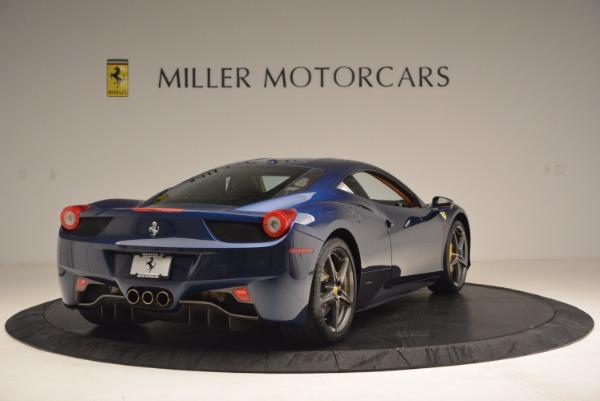 Used 2013 Ferrari 458 Italia for sale Sold at Aston Martin of Greenwich in Greenwich CT 06830 7