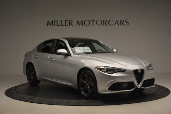 New 2017 Alfa Romeo Giulia Ti Q4 for sale Sold at Aston Martin of Greenwich in Greenwich CT 06830 11