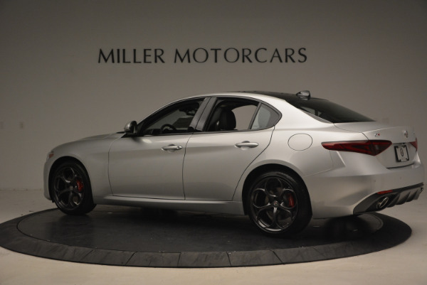 New 2017 Alfa Romeo Giulia Ti Q4 for sale Sold at Aston Martin of Greenwich in Greenwich CT 06830 4