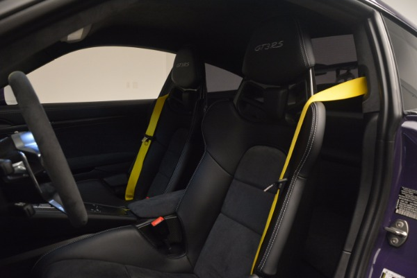 Used 2016 Porsche 911 GT3 RS for sale Sold at Aston Martin of Greenwich in Greenwich CT 06830 16