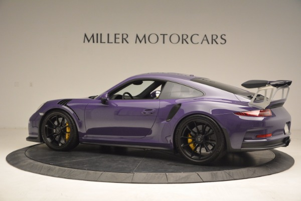 Used 2016 Porsche 911 GT3 RS for sale Sold at Aston Martin of Greenwich in Greenwich CT 06830 4