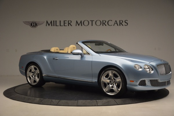 Used 2012 Bentley Continental GTC W12 for sale Sold at Aston Martin of Greenwich in Greenwich CT 06830 10