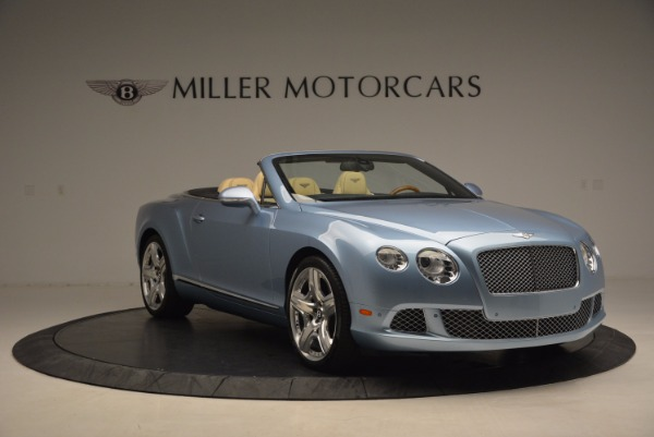 Used 2012 Bentley Continental GTC W12 for sale Sold at Aston Martin of Greenwich in Greenwich CT 06830 11