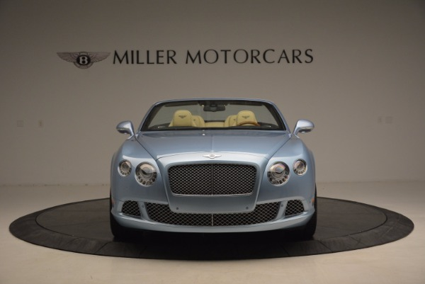 Used 2012 Bentley Continental GTC W12 for sale Sold at Aston Martin of Greenwich in Greenwich CT 06830 12
