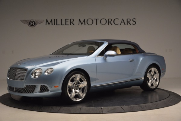 Used 2012 Bentley Continental GTC W12 for sale Sold at Aston Martin of Greenwich in Greenwich CT 06830 14