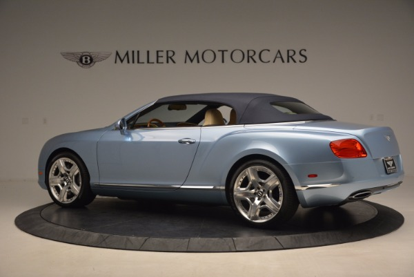 Used 2012 Bentley Continental GTC W12 for sale Sold at Aston Martin of Greenwich in Greenwich CT 06830 16