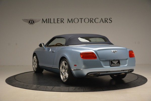 Used 2012 Bentley Continental GTC W12 for sale Sold at Aston Martin of Greenwich in Greenwich CT 06830 17