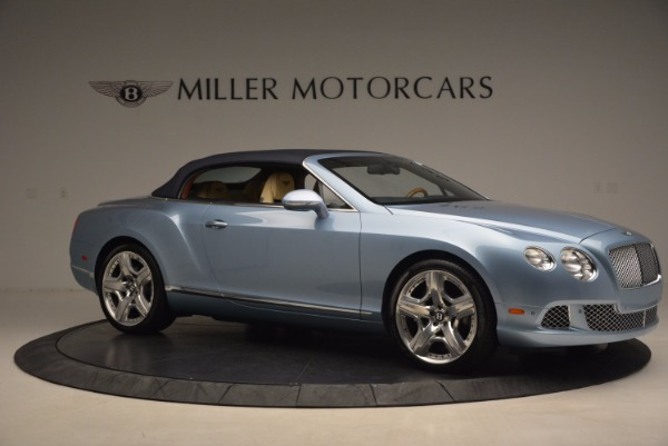 Used 2012 Bentley Continental GTC W12 for sale Sold at Aston Martin of Greenwich in Greenwich CT 06830 22