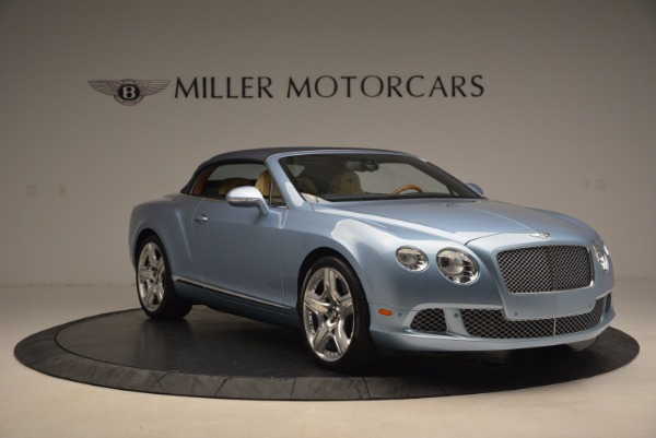 Used 2012 Bentley Continental GTC W12 for sale Sold at Aston Martin of Greenwich in Greenwich CT 06830 23