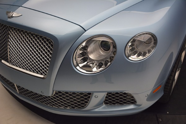 Used 2012 Bentley Continental GTC W12 for sale Sold at Aston Martin of Greenwich in Greenwich CT 06830 25