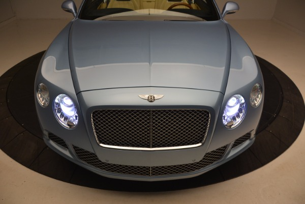 Used 2012 Bentley Continental GTC W12 for sale Sold at Aston Martin of Greenwich in Greenwich CT 06830 26