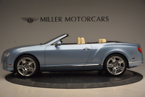 Used 2012 Bentley Continental GTC W12 for sale Sold at Aston Martin of Greenwich in Greenwich CT 06830 3
