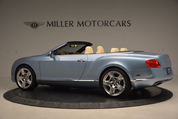 Used 2012 Bentley Continental GTC W12 for sale Sold at Aston Martin of Greenwich in Greenwich CT 06830 4