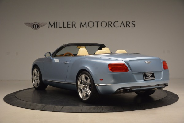 Used 2012 Bentley Continental GTC W12 for sale Sold at Aston Martin of Greenwich in Greenwich CT 06830 5