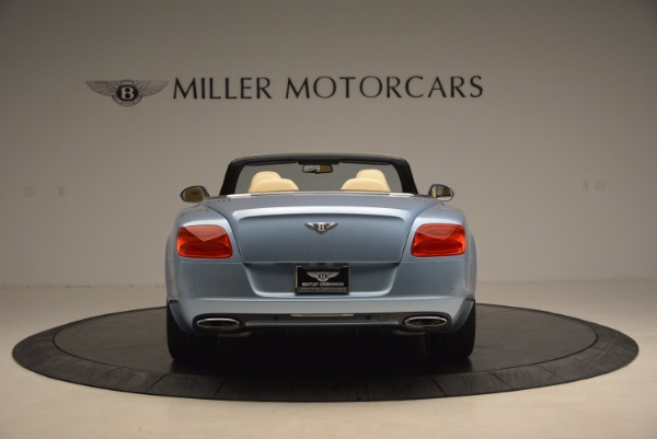 Used 2012 Bentley Continental GTC W12 for sale Sold at Aston Martin of Greenwich in Greenwich CT 06830 6