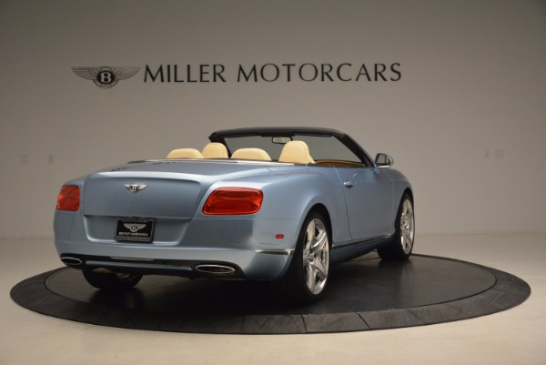 Used 2012 Bentley Continental GTC W12 for sale Sold at Aston Martin of Greenwich in Greenwich CT 06830 7