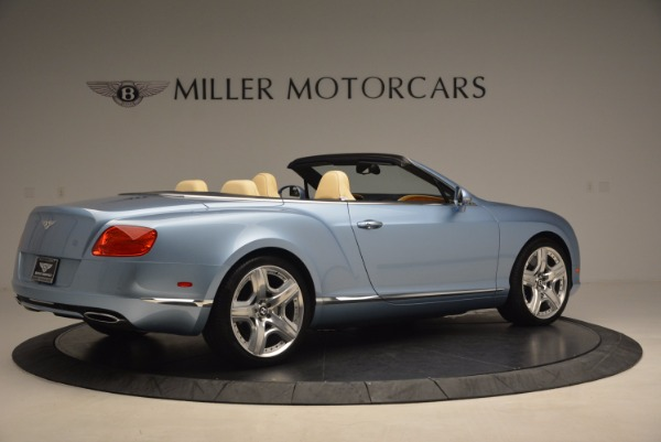 Used 2012 Bentley Continental GTC W12 for sale Sold at Aston Martin of Greenwich in Greenwich CT 06830 8