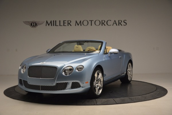 Used 2012 Bentley Continental GTC W12 for sale Sold at Aston Martin of Greenwich in Greenwich CT 06830 1
