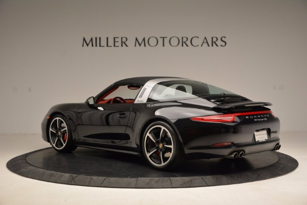 Used 2015 Porsche 911 Targa 4S for sale Sold at Aston Martin of Greenwich in Greenwich CT 06830 15