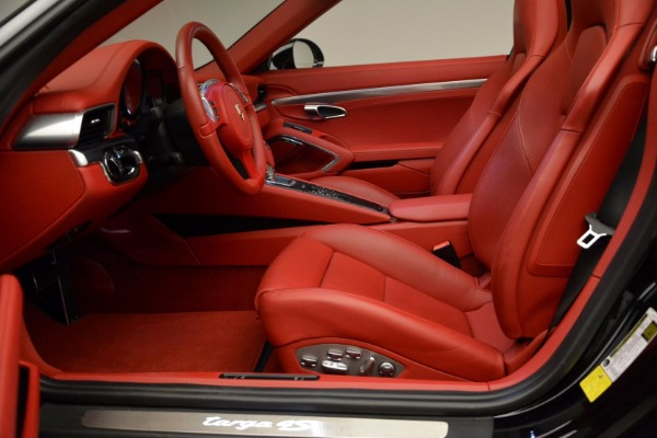 Used 2015 Porsche 911 Targa 4S for sale Sold at Aston Martin of Greenwich in Greenwich CT 06830 22