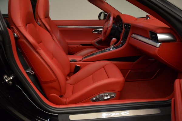 Used 2015 Porsche 911 Targa 4S for sale Sold at Aston Martin of Greenwich in Greenwich CT 06830 26