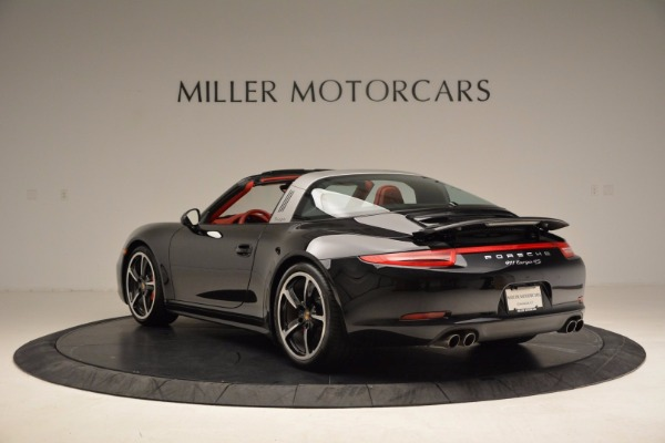 Used 2015 Porsche 911 Targa 4S for sale Sold at Aston Martin of Greenwich in Greenwich CT 06830 5