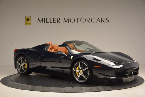Used 2015 Ferrari 458 Spider for sale Sold at Aston Martin of Greenwich in Greenwich CT 06830 10