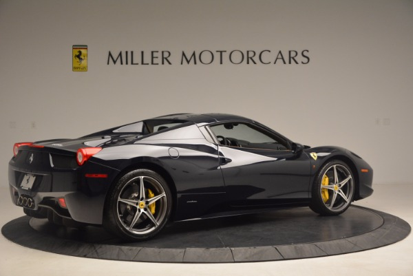 Used 2015 Ferrari 458 Spider for sale Sold at Aston Martin of Greenwich in Greenwich CT 06830 18