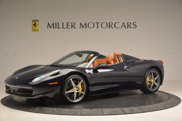 Used 2015 Ferrari 458 Spider for sale Sold at Aston Martin of Greenwich in Greenwich CT 06830 2