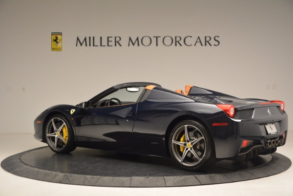 Used 2015 Ferrari 458 Spider for sale Sold at Aston Martin of Greenwich in Greenwich CT 06830 4